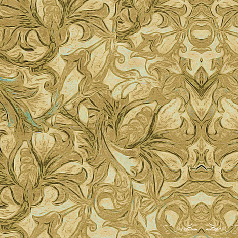Royal Gold fabric by cruzangirl on Spoonflower - custom fabric
