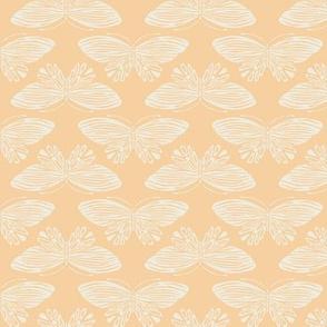 Butterflies - Yellow & Cream