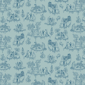 Walking Dead Toile de jouy