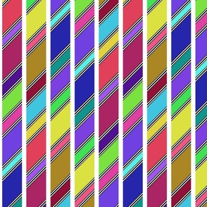 Slanted Stripe (Candy)