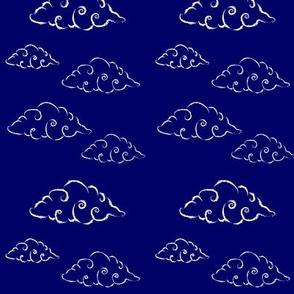 croissant clouds