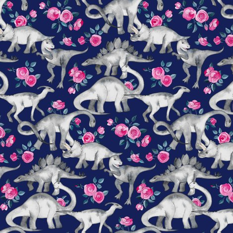 Rrdino_floral_on_navy_spoonflower_shop_preview