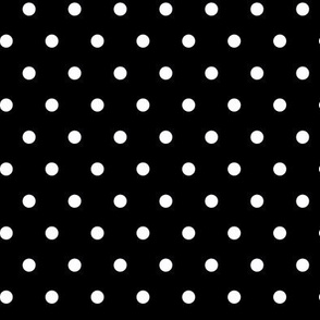 Polkadot - Black