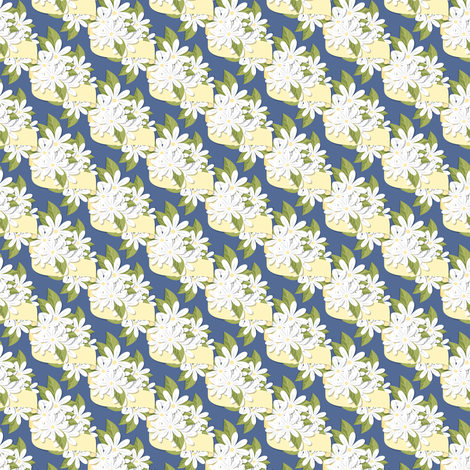 Daisy Ribbons fabric by juliematthews on Spoonflower - custom fabric