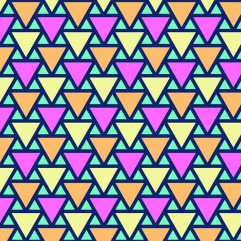 05390641 : triangle 2to1 x3 : bermuda triangles fabric by sef on Spoonflower - custom fabric