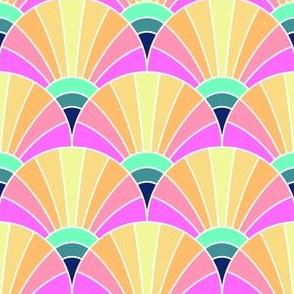 05390770 : fan scale : tropical hawaiian paradise