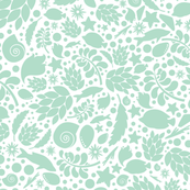 Mint summer pattern
