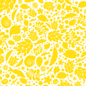 Yellow summer pattern