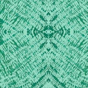 Shibori Green Tie Dyed Tonal