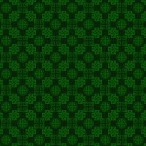Japanese Mon x 3=Leaf Pattern - Spring