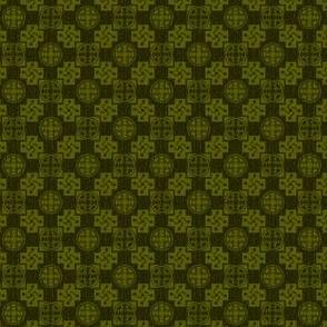 Japanese Mon x 3=Leaf Pattern-Summer