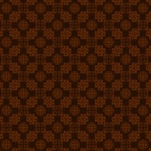 Japanese Mon x 3=Leaf Pattern - Autumn