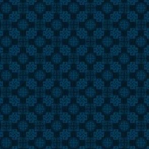 Japanese Mon x 3=Leaf Pattern - Winter