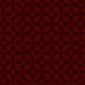 Japanese Mon x 3=Leaf Pattern - Sunrise