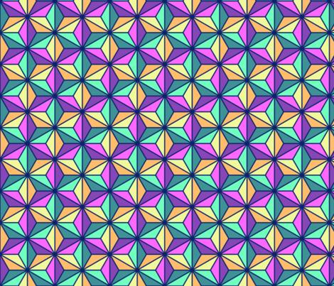 05392840 : SC3C isosceles : hawaiian mix fabric by sef on Spoonflower - custom fabric