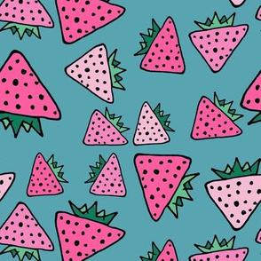blue strawberry