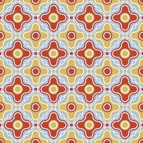 Fancy Retro Quatrefoil - Art Nouveau