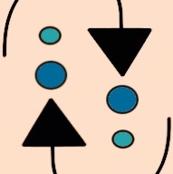 Geo  Small Mod Arrows Quilt Blender Fabric sewindigo