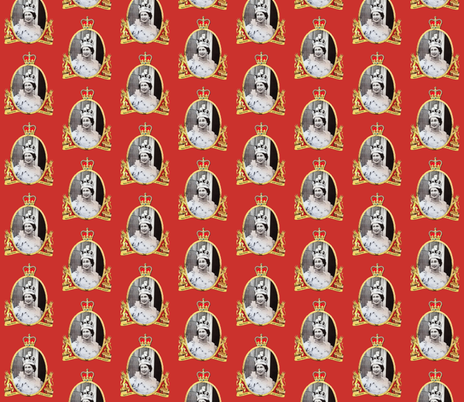 God Save The Queen Wallpaper Retroagogo Spoonflower