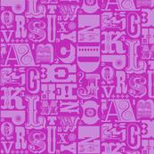 Woodtype Alphabet* (Vesuvius) || letterpress typography wood type letters numbers vintage western ornaments monotone