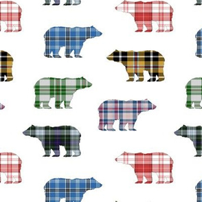 Plaid Bears // Sylvan Shoppe Collection