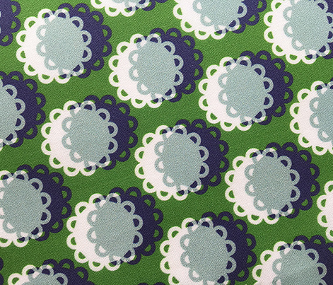 Glenview* (Dollar Bill) || doily doilies circles polka dots shadow moon flowers geometric abstract