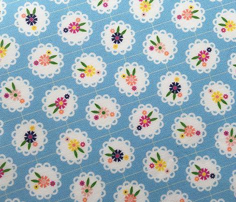 Wedgewood* (Sailor) || flowers flower floral doily doilies vintage shabby chic garden lattice polka dots nature leaves garden