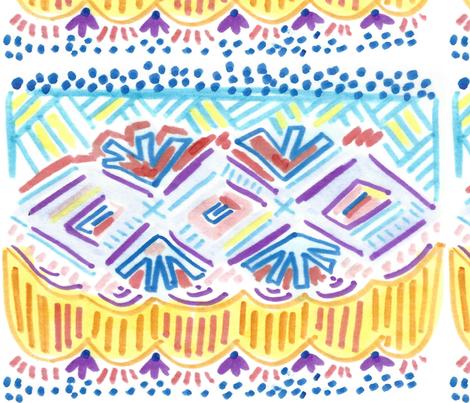 dilly dalian jackie fabric by dillydalian on Spoonflower - custom fabric