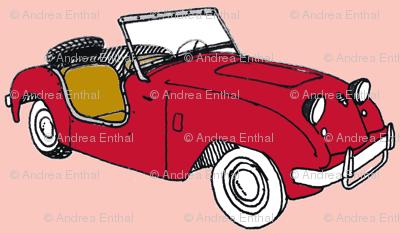 Nifty Fifties Crosley Hot Shot Bug Eyed Sports Car