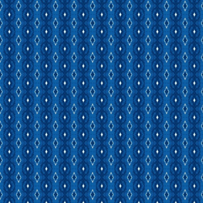 Dots and Diamonds Navy/Blue/Cobalt/White