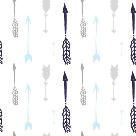 Multi Arrows  fabric by graceandcruzdesigns on Spoonflower - custom fabric