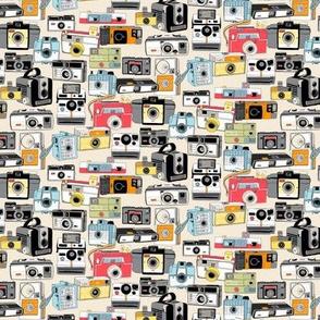 Make It Snappy! (Micro Cream)    vintage camera illustrations analog photography film photo photographer