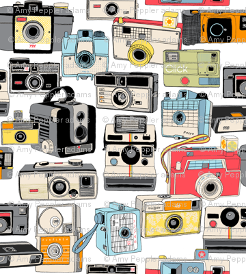 Make It Snappy! (Micro) || vintage camera illustrations analog photography film photo photographer