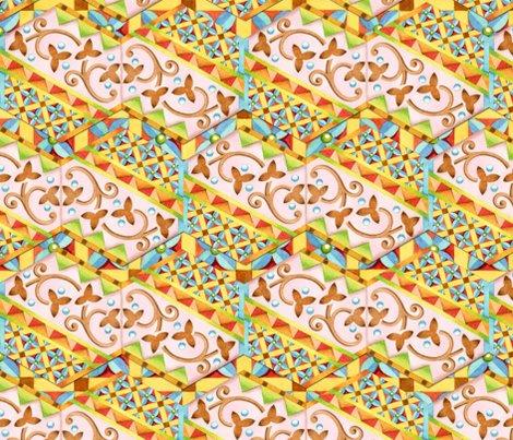 Rrpatricia-shea-designs-150-24-pink-hexagon-heraldic-stripe_shop_preview