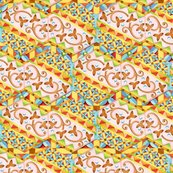 Rrpatricia-shea-designs-150-24-pink-hexagon-heraldic-stripe_shop_thumb