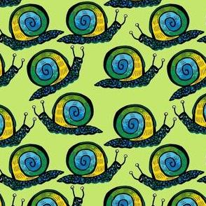 Snail [Trendy Ombre] in celery