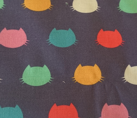 Coordinate Colour Cats silhouette