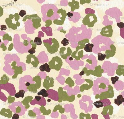 Flower  Camouflage -pink-