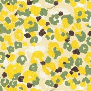 Flower Camouflage -lemon-