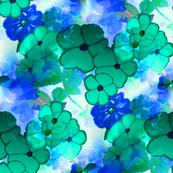winter's blue majic flora