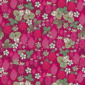 Red & Magenta Berries - SMALL