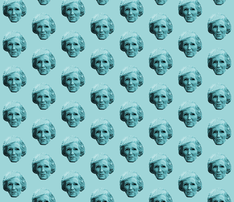 Mary Berry - kitchen Design fabric by hollywood_royalty on Spoonflower - custom fabric