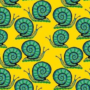 Snail [Green guy] in sun