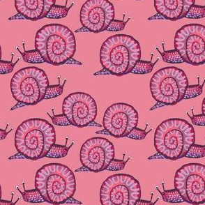 Snail [Squatty Purple] in berry