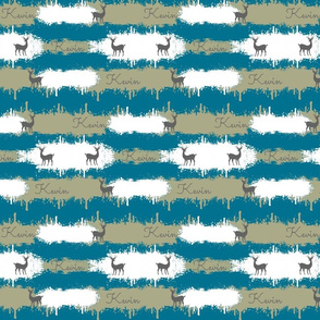 deer camo  2  MEDIUM - aqua-personalized