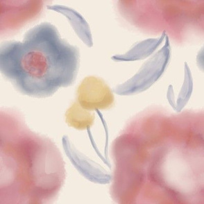 fancy_flowers_ivory_abstract