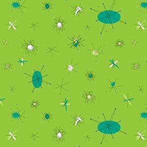 Atomic Starburst Green with Envy