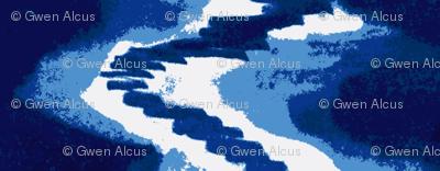 Icy Storm Cobalt Blue,/Sky Blue,/White