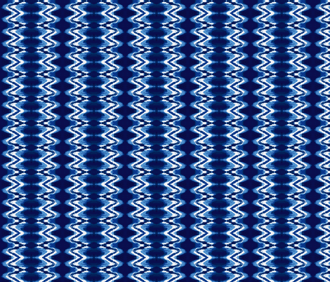 Icy Storm Cobalt Blue,/Sky Blue,/White fabric by serendipity_textiles on Spoonflower - custom fabric