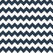 Chevron in Navy